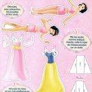 SNOW WHITE Magazine Paper Dolls from French Magazine