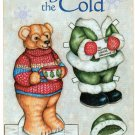 BEARING THE COLD Magazine Paper Dolls by Elizabeth Richards 2 PAGES UNCUT!