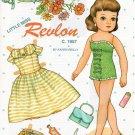 LITTLE MISS REVLON Magazine Paper Dolls by Karen Reilly 2 PAGES UNCUT!