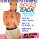 CLUB INTERNATIONAL MAGAZINE December 1985 SEKA'S BACK!