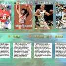 SI SPORTS ILLUSTRATED FOR KIDS Sheet 4 Trading Cards LEGENDS #45 TO #48