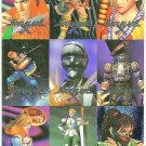 SOULBLADE Perforated Sheet of 9 Trading Cards UNCUT
