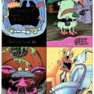 Fleer Ultra AAAHH!!! REAL MONSTERS Promo Trading Cards © 1995