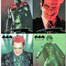 Fleer Ultra BATMAN FOREVER Promo Trading Cards © 1995