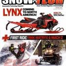 SNOW TECH Snowmobile Technology Magazine Spring 2021 RMK MATRYX & MACH Z