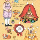 LITTLE RED RIDING HOOD Mary Engelbreit Magazine Paper Dolls On the way to Granny's house