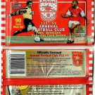1997/98 ARSENAL FOOTBALL CLUB Fans' Selection Collector Card Series SEALED PACK!