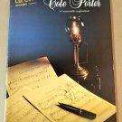 COLE PORTER Piano Solos Song Book LEE EVANS ARRANGEMENTS - 14 Songs