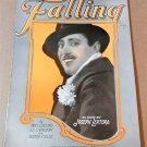 FALLING Piano/Vocal Sheet Music JOSEPH LERTORA © 1922