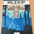 SLEEP Piano/Vocal Sheet Music by Earl Lebieg WARING'S PENNSYLANIANS © 1922