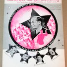 WITH MY EYES WIDE OPEN I'M DREAMING Piano/Vocal/Guitar Sheet Music BEN BERNIE