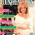 COUNTRY AMERICA MAGAZINE April 1996 DOLLY PARTON Billy Ray Cyrus Milk Mustache Ad