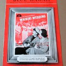 BLUE HAWAII Piano/Vocal/Guitar Sheet Music BING CROSBY © 1937