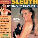 CELEBRITY SLEUTH MAGAZINE Women of Fantasy 3 #1 1991 MADONNA Ornella Muti