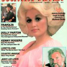 COUNTRY FEVER MAGAZINE Summer 1980 DOLLY PARTON Kenny Rogers JOHN TRAVOLTA
