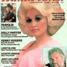 COUNTRY FEVER MAGAZINE Summer 1980 DOLLY PARTON Kenny Rogers JOHN TRAVOLTA
