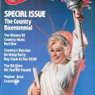 COUNTRY MUSIC MAGAZINE July 1976 DOLLY PARTON Waylon Jennings & Jessie Colter