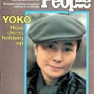 PEOPLE January 12, 1984 YOKO ONO Chrystie Jenner's Split w/ Bruce (Caitlyn)