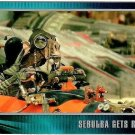 STAR WARS EPISODE 1 Widevision Trading Card #X-8 Sebula Gets Ready To Rage