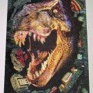 Jurassic Park THE LOST WORLD Large Lenticular Card TYRANNOSAURUS REX
