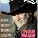 COUNTRY MUSIC MAGAZINE November/December 1988 K.T. OSLIN Willie Nelson