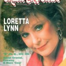MUSIC CITY NEWS February 1989 LORETTA LYNN Chet Atkins JERRY CLOWER Mel Tillis