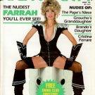 HIGH SOCIETY MAGAZINE January 1981 The Nudest FARRAH FAWCETT You'll Ever See!