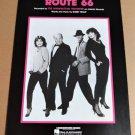 ROUTE 66 Piano/Vocal/Guitar Sheet Music THE MANHATTAN TRANSFER Cover Photo!