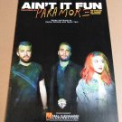 AIN'T IT FUN Piano Vocal Guitar Sheet Music PARAMORE Cover Photo! © 2013