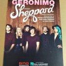 GERONIMO Piano Vocal Guitar Sheet Music SHEPPARD © 2014 Cover Photo!