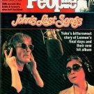 PEOPLE WEEKLY MAGAZINE February 20, 1984 JOHN LENNON'S LAST SONGS Chris Evert