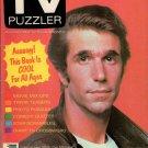 THE TV PUZZLER Vintage 1970's America's First TV Puzzle Magazine UNUSED!