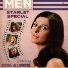 BEST FOR MEN MAGAZINE Issue #44 April 1969 STARLET SPECIAL Ariane de Longpre