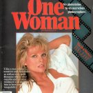 One Woman Magazine Spring 1984 CATHY LEE CROSBY Six Folios INTERVIEW Full Color