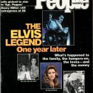 PEOPLE WEEKLY MAGAZINE August 21, 1978 ELVIS LEGEND 1 YEAR LATER Glenn Ford