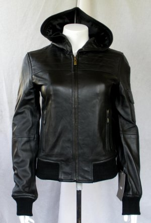 NWT Women's Made to Measure Hooded Bomber