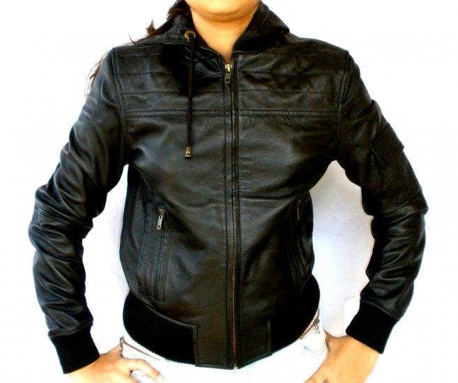 NWT Women's Hooded Bomber Jacket Style 14F