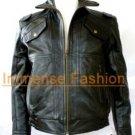 NWT Men's Vintage Aviator Bomber Leather Jacket Style M30