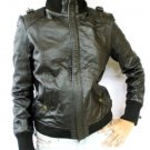 NWT Women's Bomber Leather Jacket Style 4FP