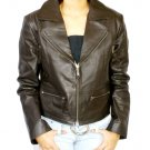 NWT Women's Blazer Cropped Leather Jacket Style F-S3