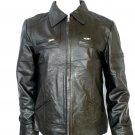 NWT Men's Bomber Leather Jacket Style M48