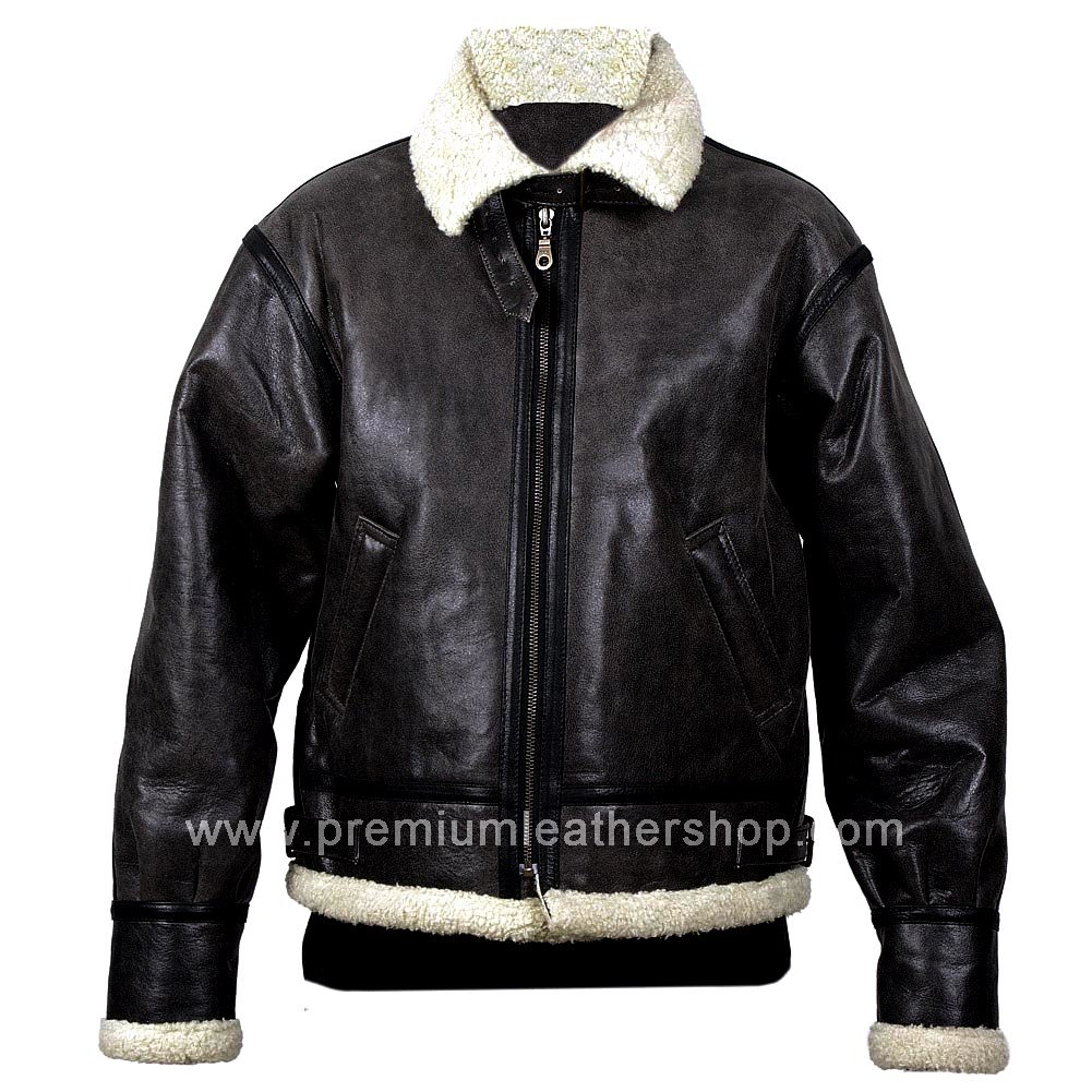 NWT Men's Vintage Aviator Leather Jacket Style M90