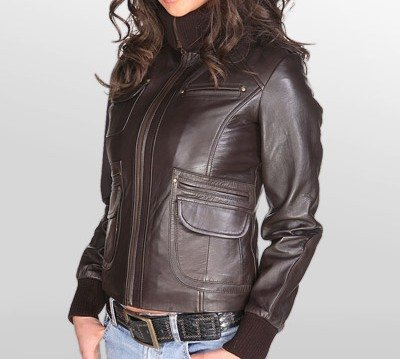 NWT Women's Made to Measure Leather Jacket Style 26F