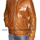 NWT Men's Classic Retro Biker Leather Jacket Style M78