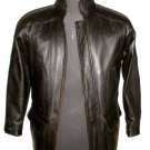 "Men's Big & Tall Cargo Pocket Style Leather jacket Style M55 Size 4X 54"" chest"