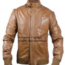 NWT Men's 3 in 1 Sleeves Bomber Leather Jacket Style MD-158