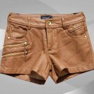 NWT Ladies Leather Shorts Style WS14