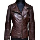 NWT Women's Biker Leather Jacket Style FS-182