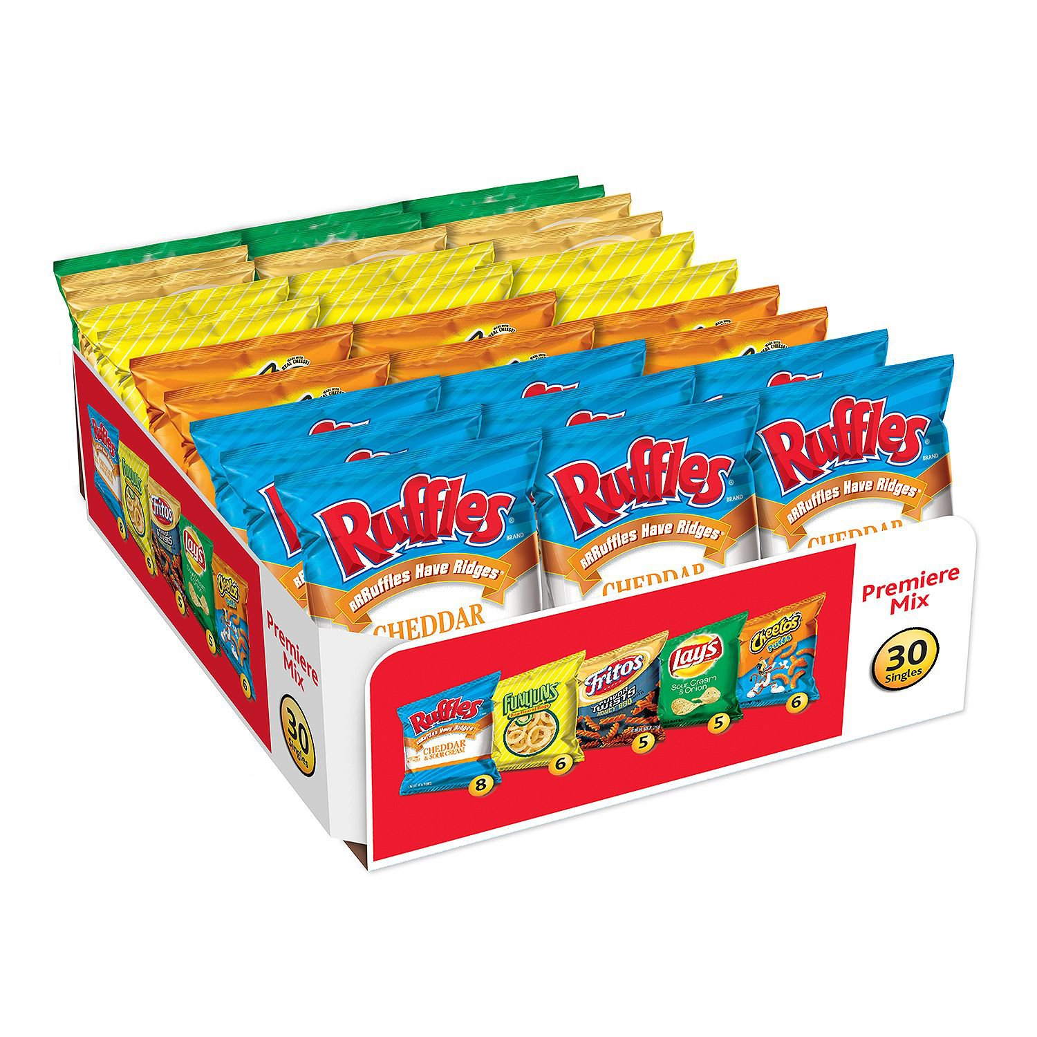Frito-Lay Premiere Mix Chips and Snacks Variety Pack (30 ct.)