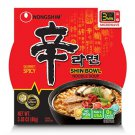 Nongshim Shin Bowl Noodle Soup (3.03 oz. bowl, 12 ct.) SPICY